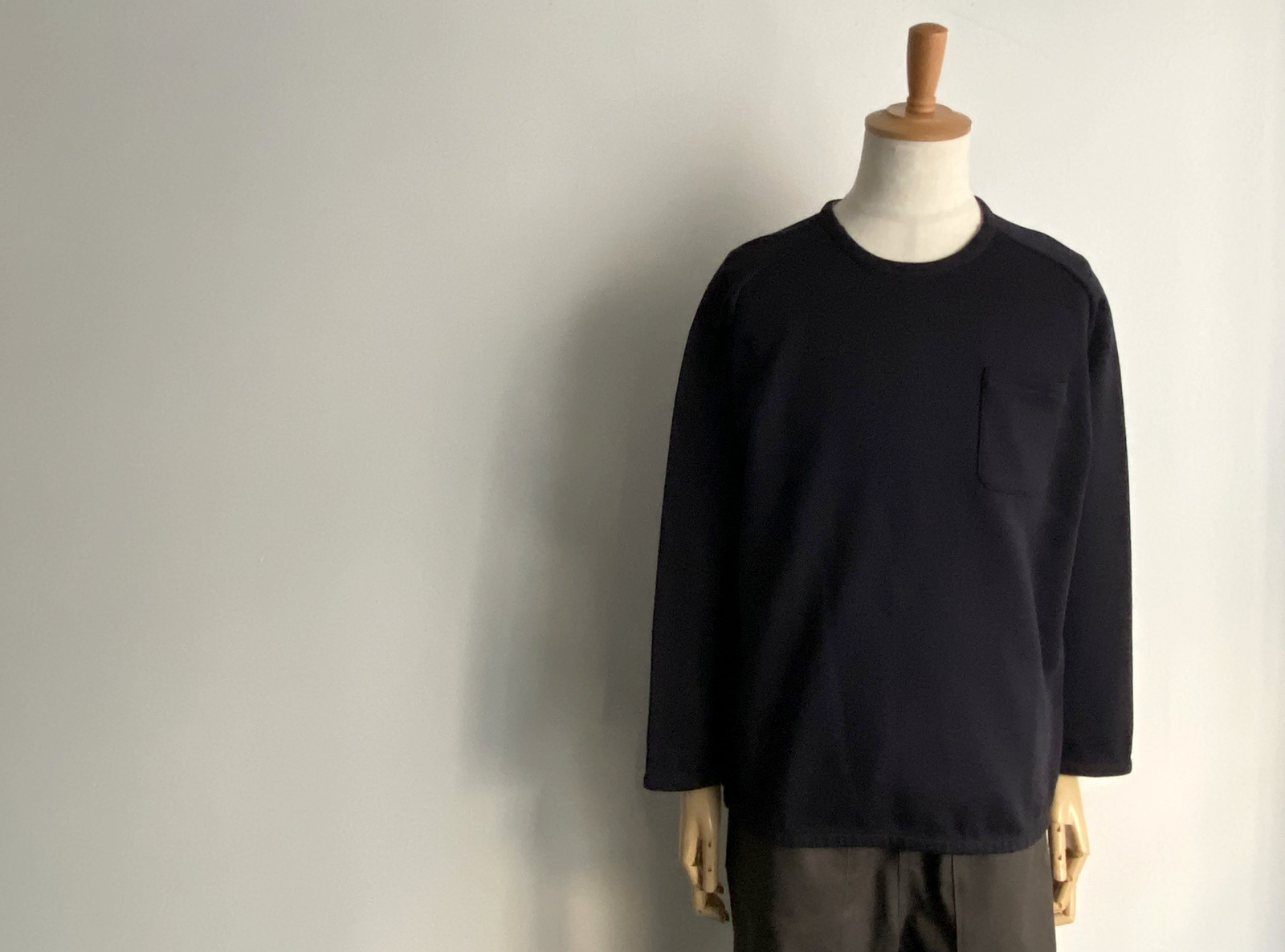 Cotton Jersey Pocket Pull Over_c0379477_13552825.jpg