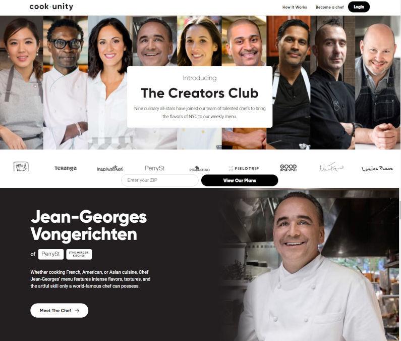 ニューヨークのセレブ・シェフのお料理をデリバリー・サブスク化「クックユニティ」(Cookunity.com)_b0007805_20400765.jpg