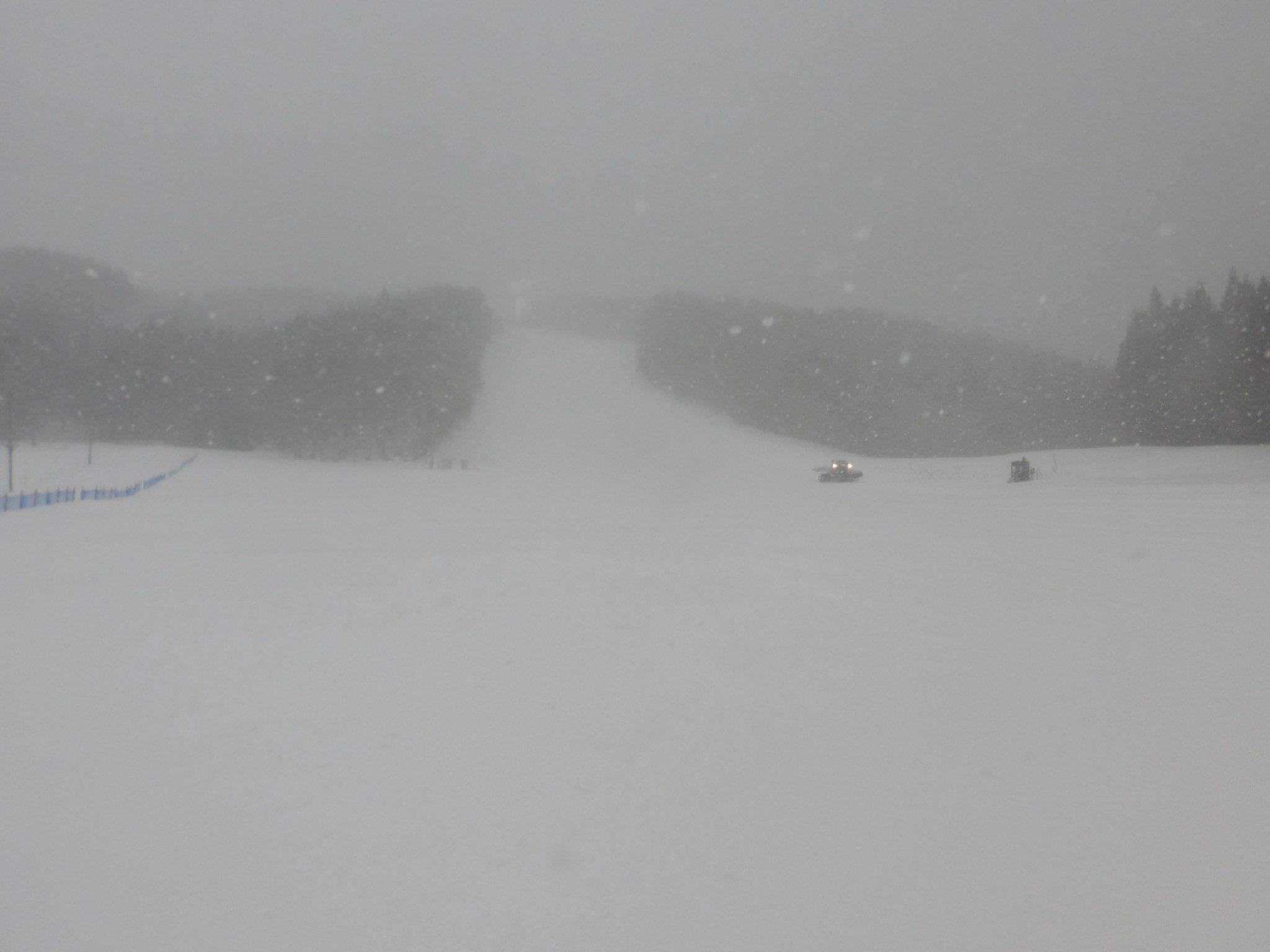 令和3年2月 24日(水)天気/雪 気温/-7℃ 風/弱 積雪/70㎝ 滑走可能_e0306207_08233309.jpg