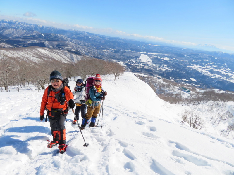 快晴の 大日ケ岳 (1,708M)     登頂 編_d0170615_21514316.jpg