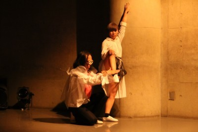 久々に観客ともども舞台を共有出来た「リンゴ企画」公演_d0178431_17402694.jpg