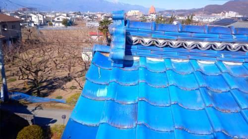 笛吹市 青緑の屋根 其の一_b0242734_21515094.jpg