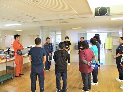 消防訓練を行いました_b0199838_18472777.jpg