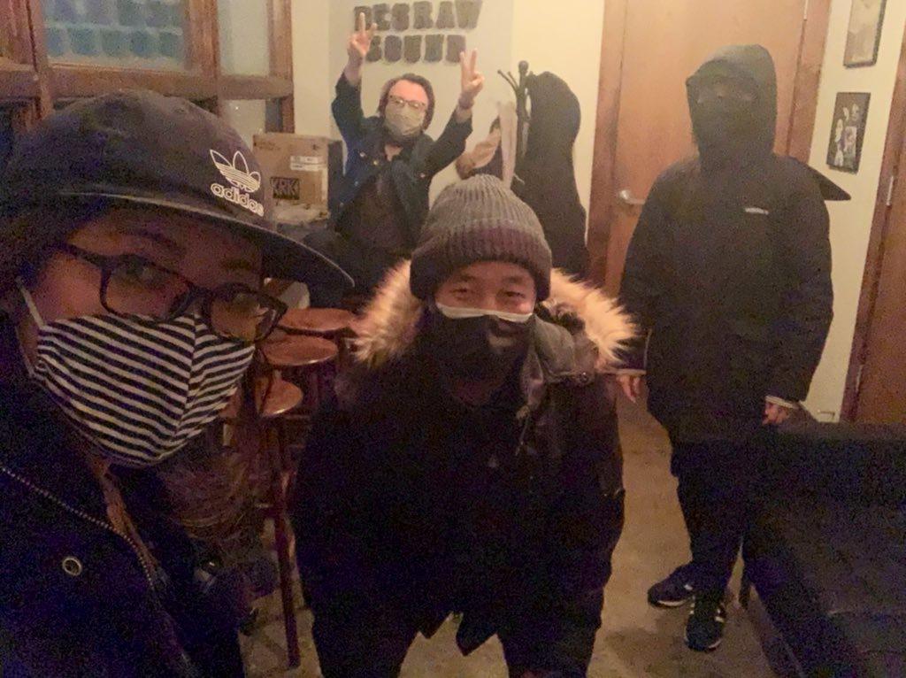 新しいアルバム「Here And Now」Album Update スタジオ再開!_a0150139_16104119.jpeg