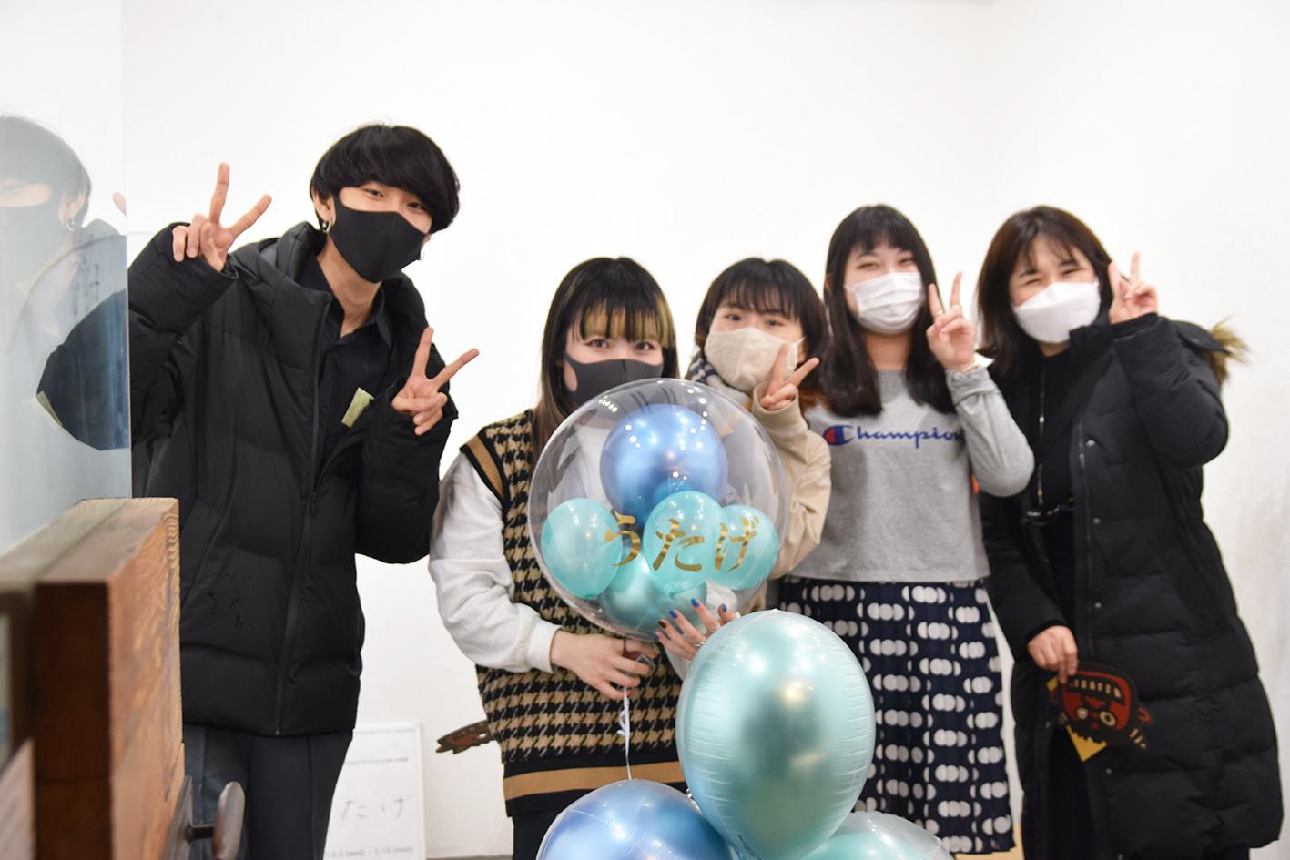 2021.2.3(水)–2.15(月)※2.9休 グループ展 うたげ @ 最終日_e0272050_17471909.jpg