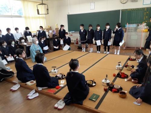金生第2小学校のお茶クラブ_e0181051_17530492.jpg
