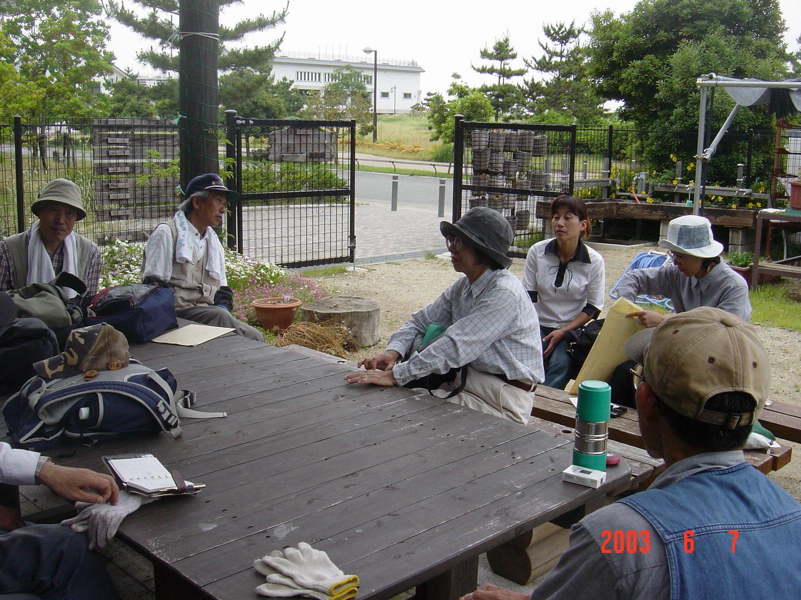 うみべの森の歴史⑬「2003年6月の活動」_c0108460_12032967.jpg