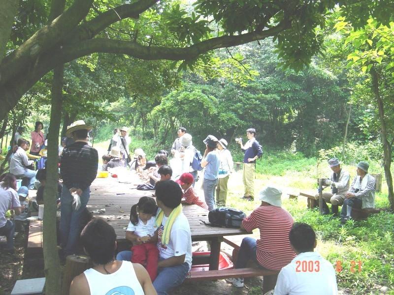 うみべの森の歴史⑬「2003年6月の活動」_c0108460_12341407.jpg