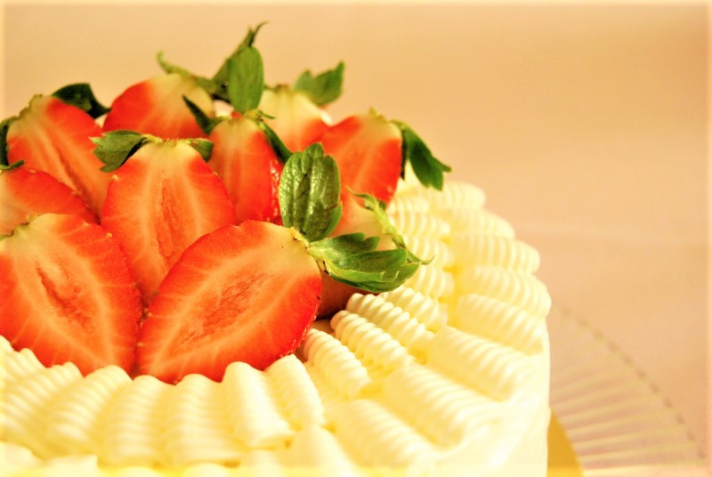 「いちごのショートケーキ」レシピを公開 島本薫_c0122889_19442997.jpg
