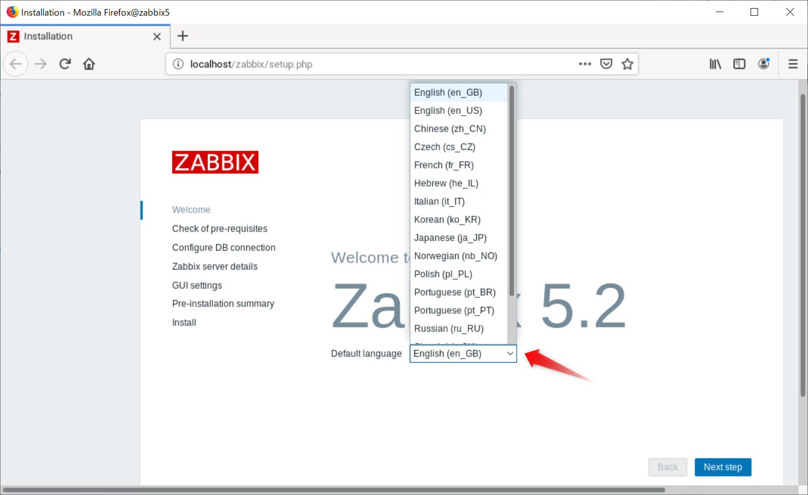 Zabbix 5.2 on openSUSE Leap 15.2 Install_a0056607_13250432.png