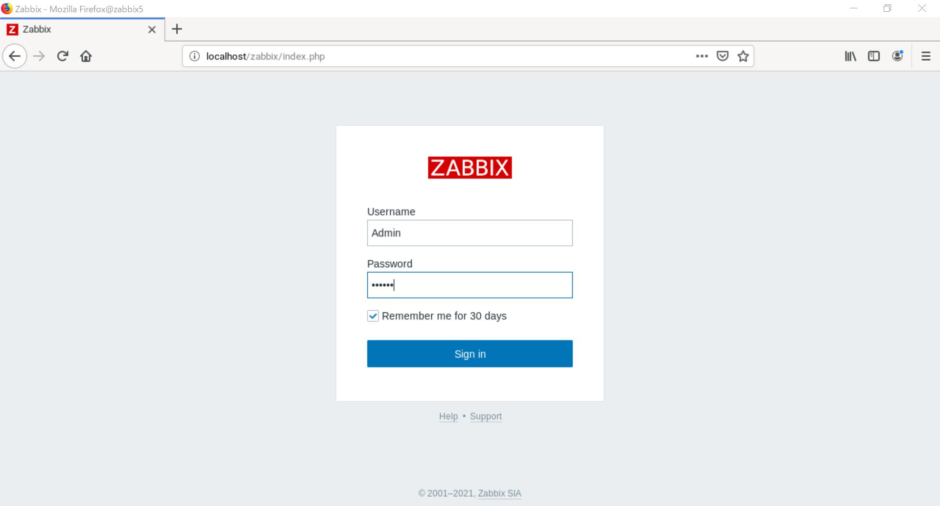 Zabbix 5.2 on openSUSE Leap 15.2 Install_a0056607_13283014.png
