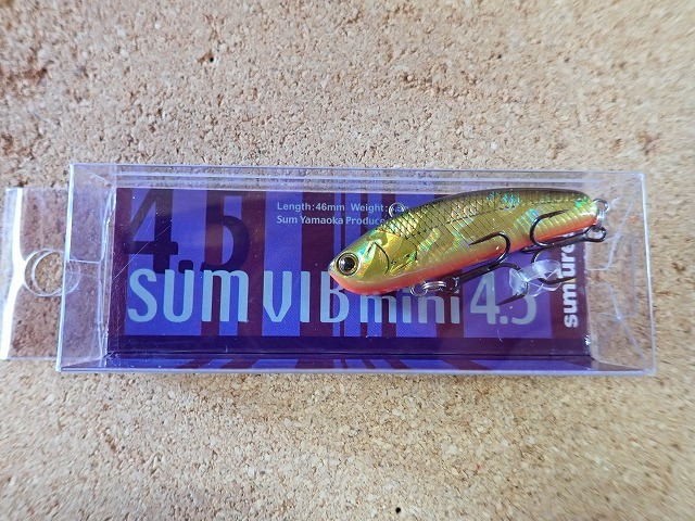 [バス]サムルアーズ サムバイブミニ 2製品入荷いたしました。_a0153216_16414432.jpg