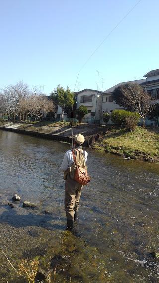 2/22(mon) 黒目川でお客様とキャスティング練習 LtL横田征巳_e0202845_15464594.jpg