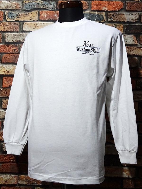 kustomstyle ロングスリーブTシャツ・Tシャツ入荷_c0094761_10271673.jpg