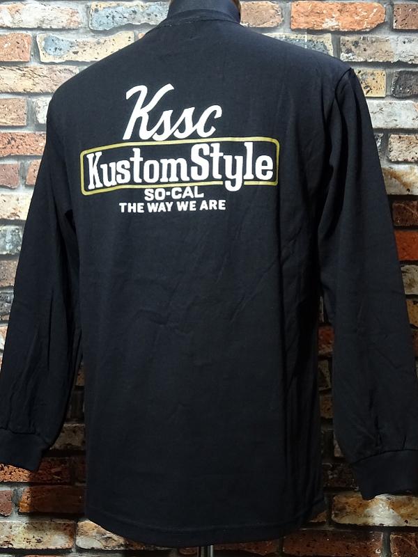 kustomstyle ロングスリーブTシャツ・Tシャツ入荷_c0094761_10272291.jpg
