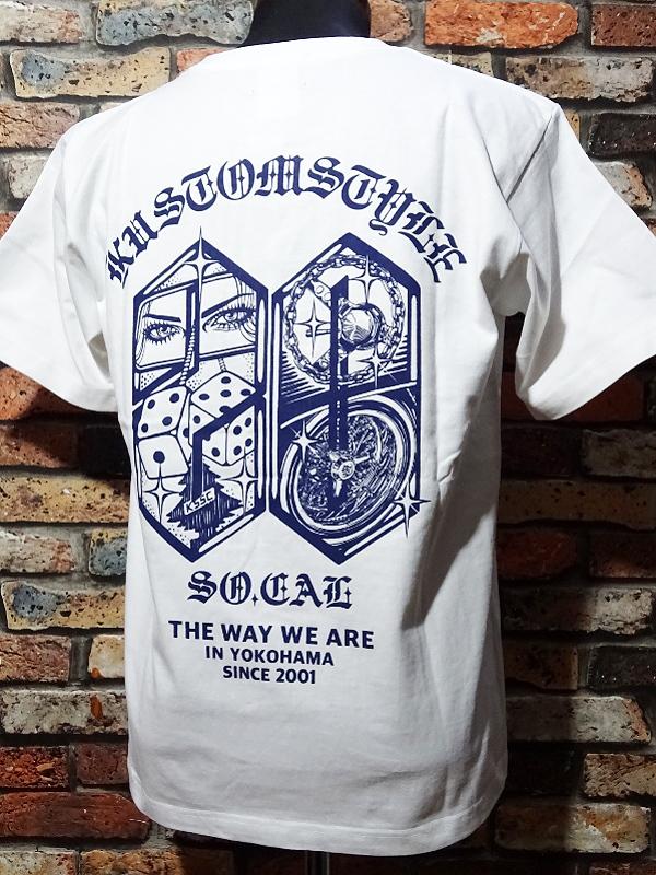 kustomstyle ロングスリーブTシャツ・Tシャツ入荷_c0094761_10274771.jpg