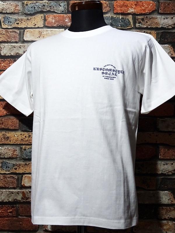 kustomstyle ロングスリーブTシャツ・Tシャツ入荷_c0094761_10275370.jpg