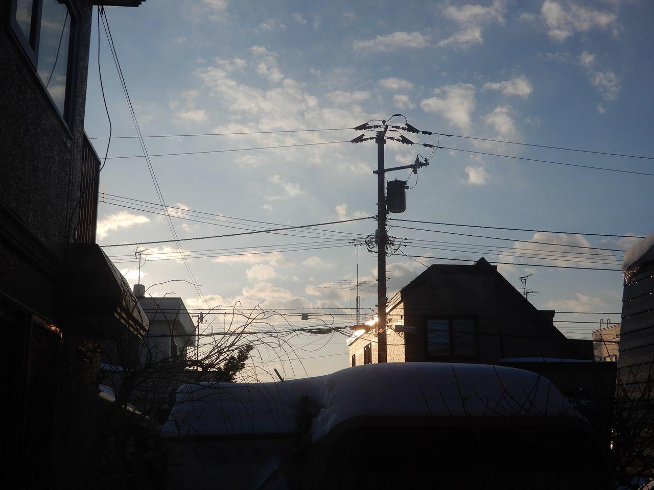 もう太陽のほうが早起きになっていた_c0025115_21552557.jpg