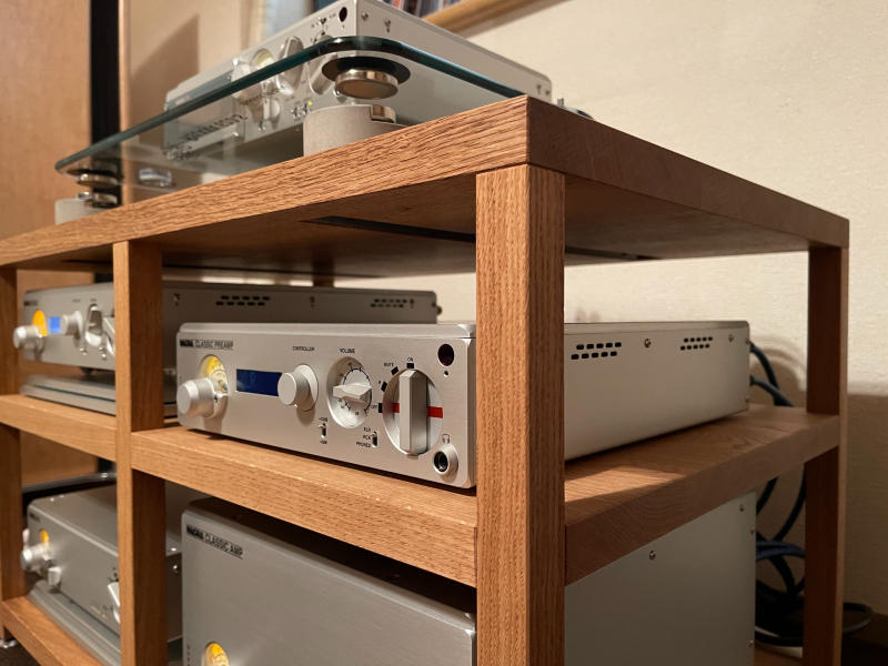SOUNDPIT:オリジナルオーディオラックの納品_e0404728_17380479.jpg