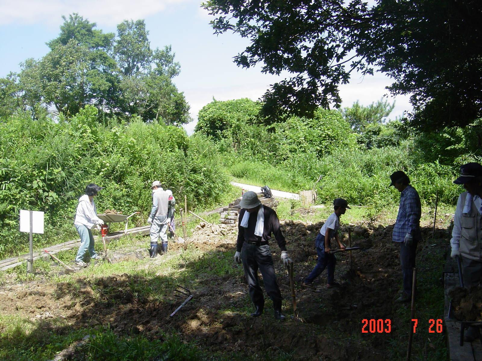うみべの森の歴史⑭「2003年7月の活動」_c0108460_12435341.jpg