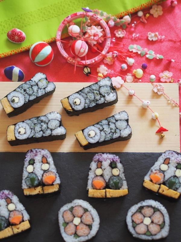 飾り巻き寿司で季節を愛でよう♡ レシピ&動画販売行ってます♫_e0362276_10222324.jpg