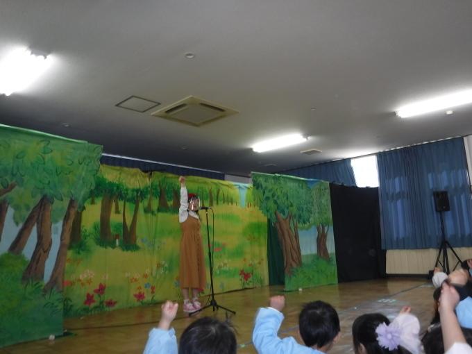 人形劇を鑑賞しました。_f0227821_10563077.jpg