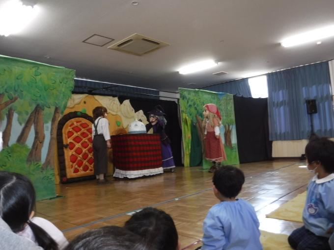 人形劇を鑑賞しました。_f0227821_14151076.jpg