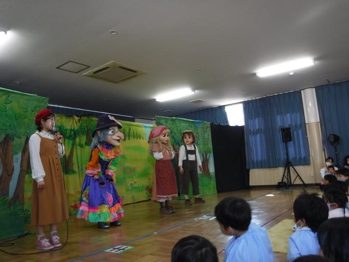 人形劇を鑑賞しました。_f0227821_14153733.jpg