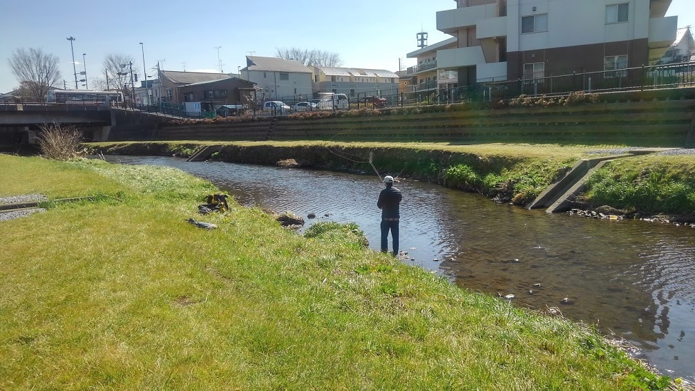 2/24(wed) 野川でお客様とキャスティング練習行いました。LtL横田征巳_e0202845_19014551.jpg