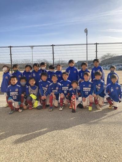 2021年2月27日土 旭FCチャレンジカップU8優勝🏆_e0295964_17071665.jpeg