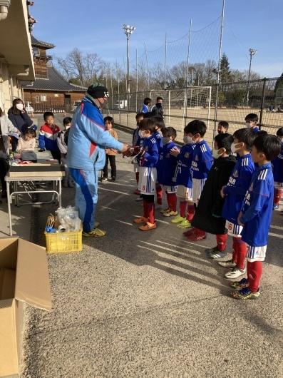 2021年2月27日土 旭FCチャレンジカップU8優勝🏆_e0295964_17075090.jpeg