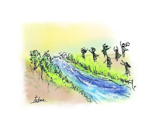 No.435 荒野に水が湧く時 2021.2.28_c0265111_15280691.jpg