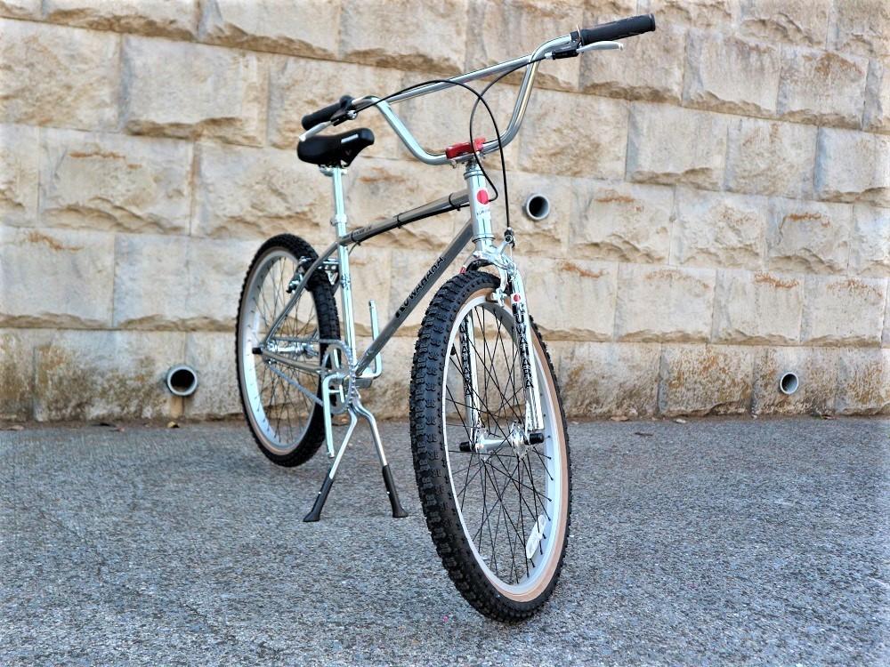 KUWAHARA SURVIVOR 24 FLAME bike限定 クロームメッキ ステムレッド_e0188759_17565810.jpg
