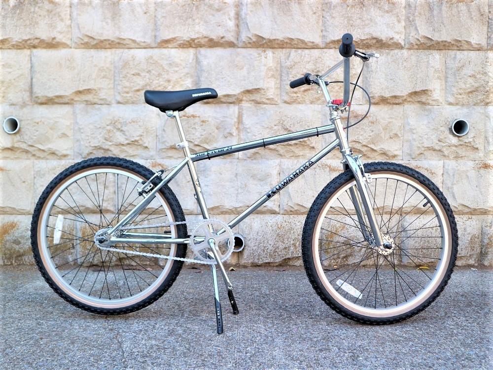 KUWAHARA SURVIVOR 24 FLAME bike限定 クロームメッキ ステムレッド_e0188759_17571076.jpg