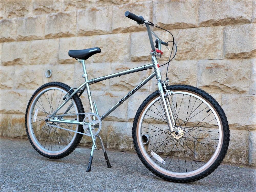 KUWAHARA SURVIVOR 24 FLAME bike限定 クロームメッキ ステムレッド_e0188759_17571291.jpg