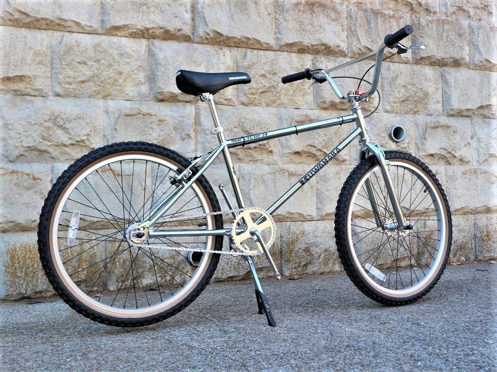 KUWAHARA SURVIVOR 24 FLAME bike限定 クロームメッキ ステムレッド_e0188759_17571440.jpg