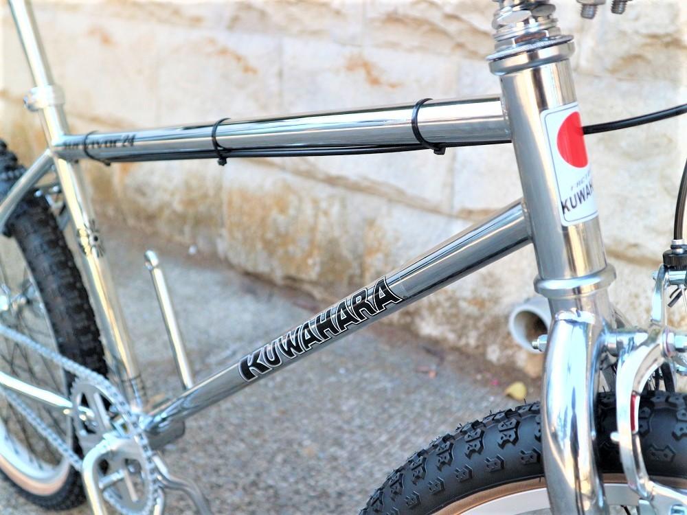 KUWAHARA SURVIVOR 24 FLAME bike限定 クロームメッキ ステムレッド_e0188759_17571603.jpg