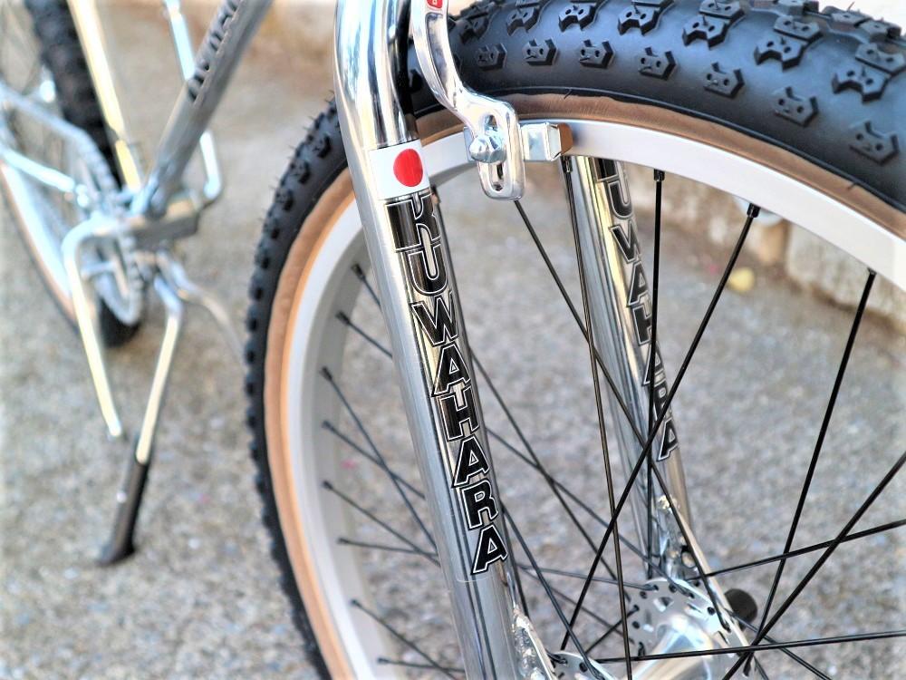 KUWAHARA SURVIVOR 24 FLAME bike限定 クロームメッキ ステムレッド_e0188759_17572012.jpg