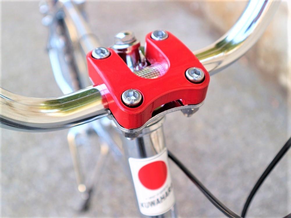 KUWAHARA SURVIVOR 24 FLAME bike限定 クロームメッキ ステムレッド_e0188759_17580967.jpg