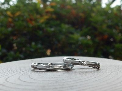 セミオーダーの結婚指輪 |岡山_d0237570_13335973.jpg