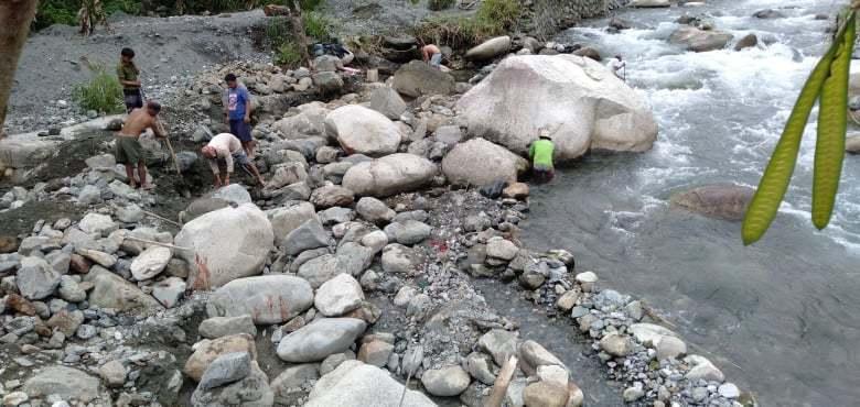 イフガオ州ハパオ村ナガワ集落の堤防修復プロジェクト〈中間報告〉_b0128901_15294934.jpg