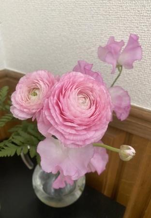 花柄の小紋に合わせる帯_f0176305_22463409.jpeg