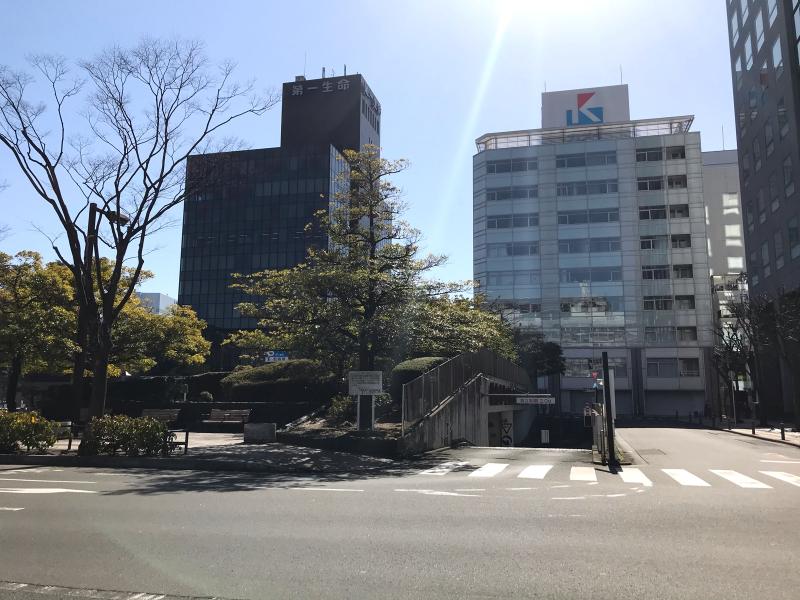 仙台市役所南側から_a0030217_21342107.jpg