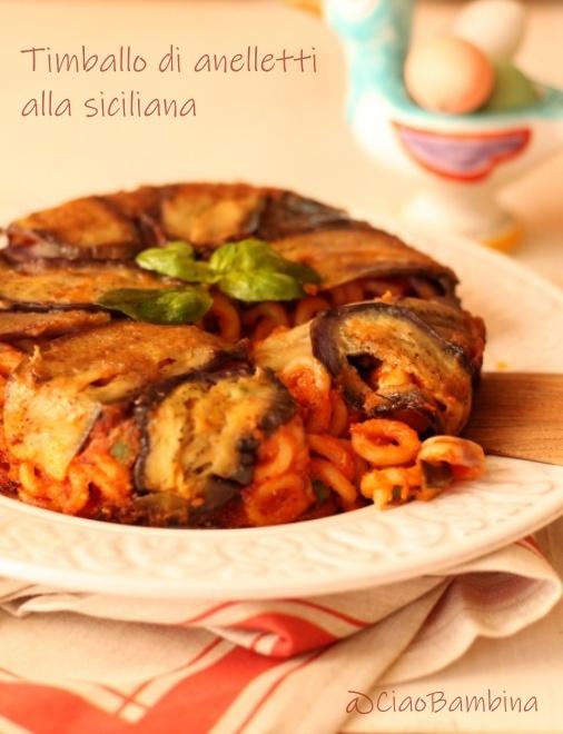 オンラインレッスン用食材の発送について、、とシチリアのオーブン焼きパスタ ティンバッロ - ユキキーナの日記