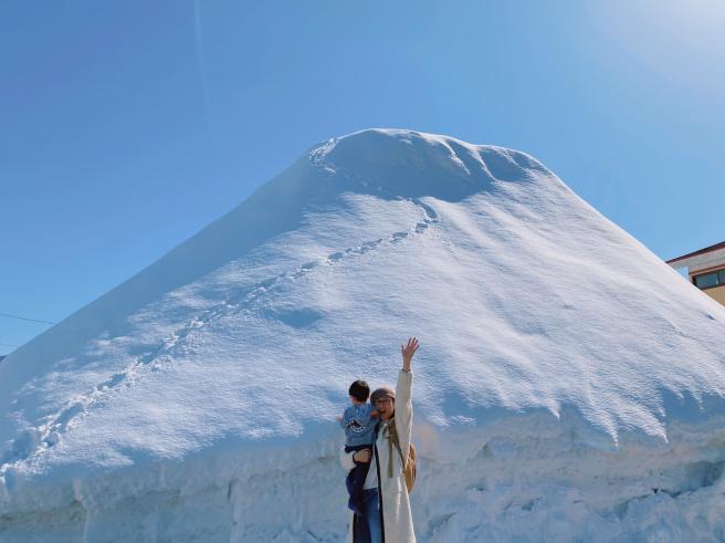 雪の壁@西和賀町_b0199244_10254851.jpg