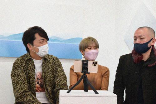 2021.2.24(水) – 3.1(月) 立花 清美 展 where are we? @ 5日目_e0272050_15315746.jpg
