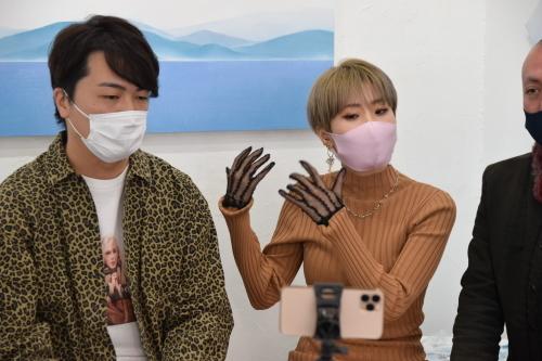 2021.2.24(水) – 3.1(月) 立花 清美 展 where are we? @ 5日目_e0272050_15371877.jpg