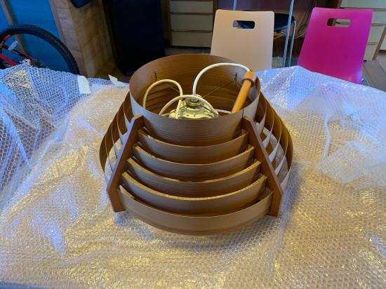 ヤコブセンランプ名作 JAKOBSSON LAMP 照明器具 修理 35_f0053665_00401530.jpg