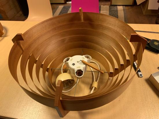 ヤコブセンランプ名作 JAKOBSSON LAMP 照明器具 修理 35_f0053665_00432167.jpg