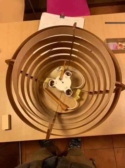 ヤコブセンランプ名作 JAKOBSSON LAMP 照明器具 修理 35_f0053665_00432483.jpg